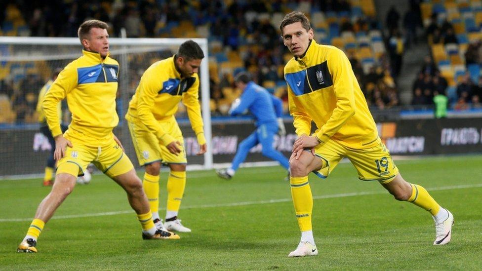 Перший тайм Україна-Хорватія - 0:0