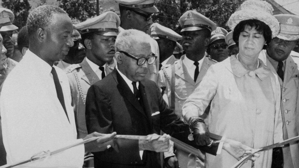 Haiti's dictator Papa Doc