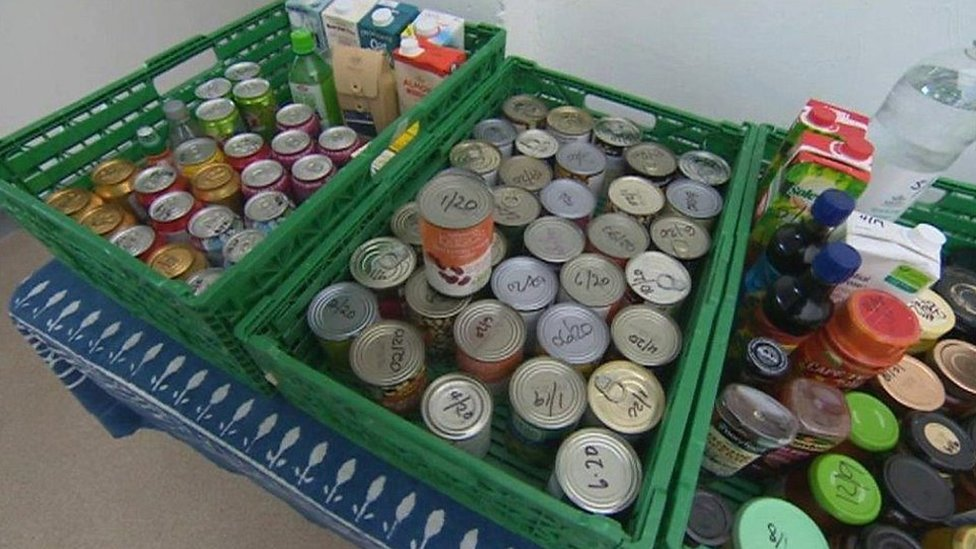 Food bank referrals pass 100,000 mark in Wales