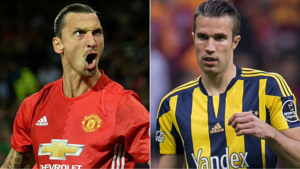 Man Utd face Europa League reunion with Van Persie
