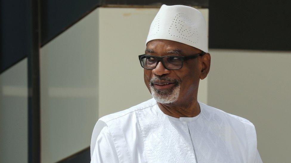 Mali coup: Ibrahim Boubacar Keïta flies to UAE thumbnail
