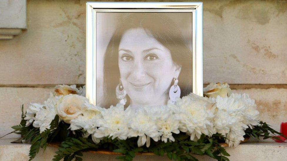 Malta journalist Daphne Caruana Galizia's family sue police