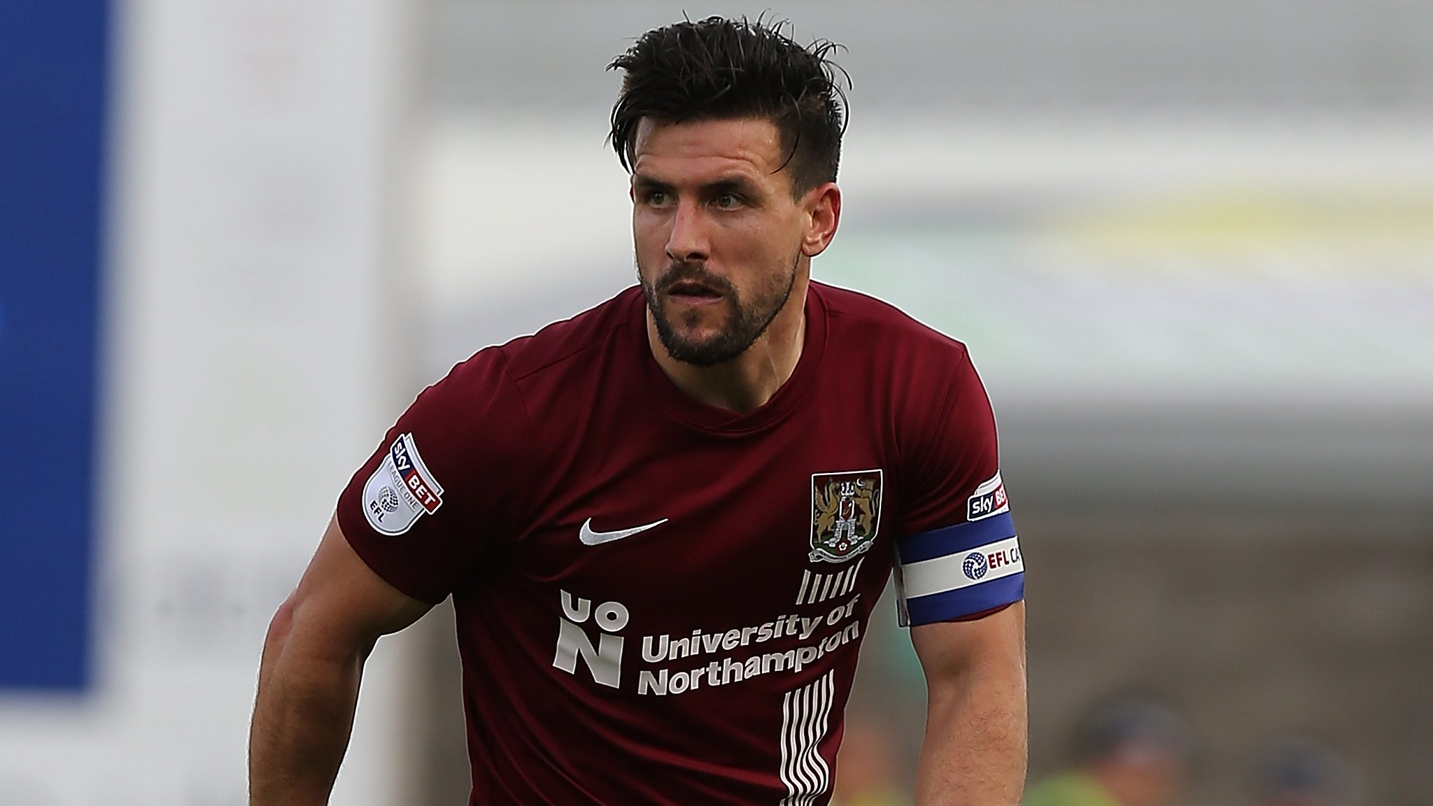 Fans wanted to fight me after match, says Northampton captain Buchanan