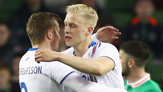 Iceland beat Republic in Dublin friendly