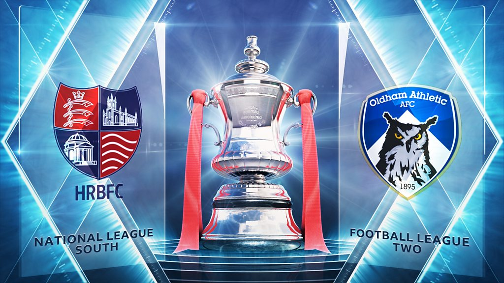 FA Cup: Hampton & Richmond 1-2 Oldham Athletic highlights