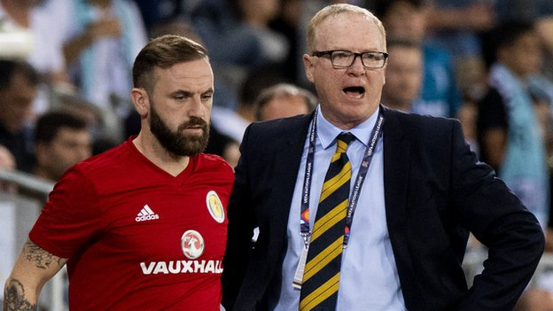 McLeish sacked 'too early' as Scotland boss, says McFadden