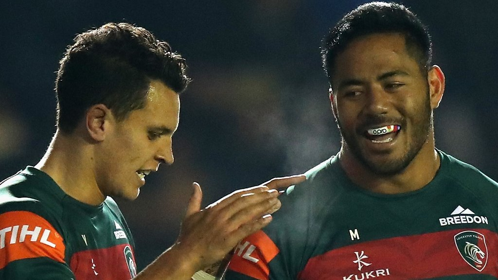 Five-try Leicester too strong for Scarlets