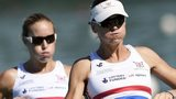 GB rowers Helen Glover and Heather Stanning