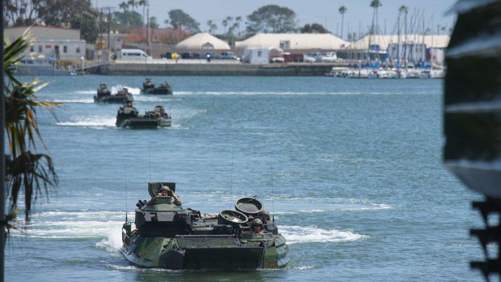 水陸兩用坦克車