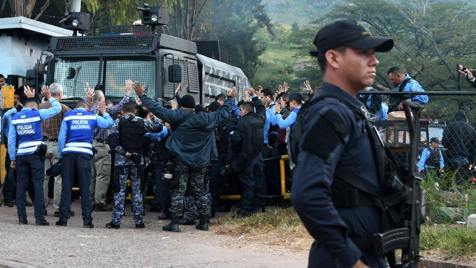 Fuerzas Seguridad Honduras.
