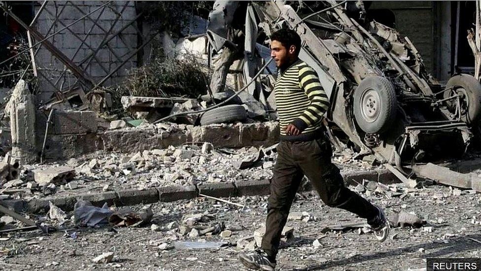 Syria: Không kích giết chết 500 người ở Đông Ghouta