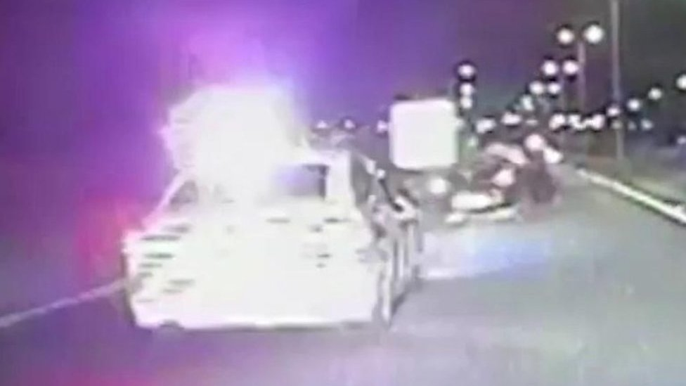 'Reckless' joyrider flipped car after 85mph A1 chase