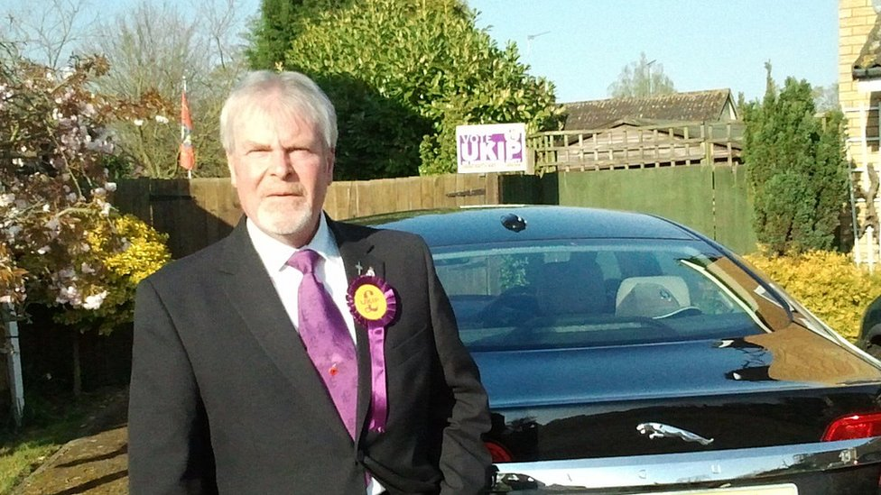 UKIP councillor Stephen Searle guilty of murdering wife