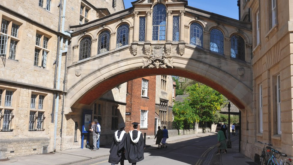 Oxford University sorry for eye contact racism claim