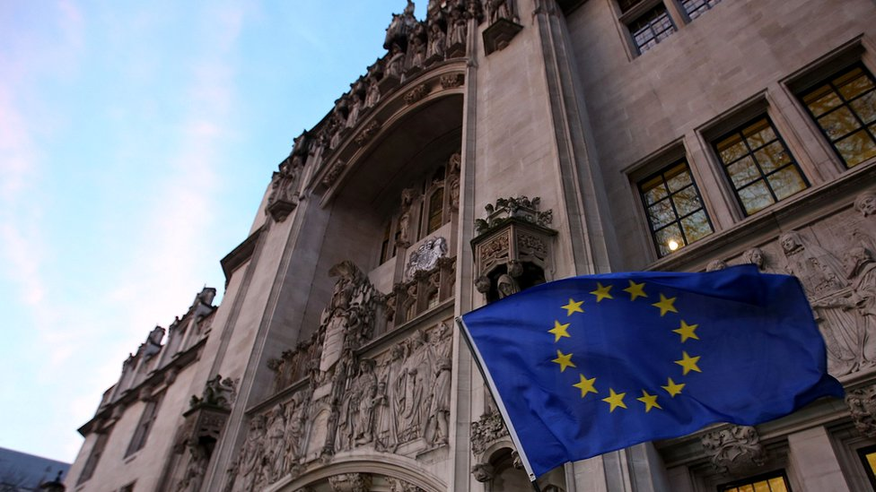 Brexit: No 'direct jurisdiction' for ECJ after Brexit, say ministers