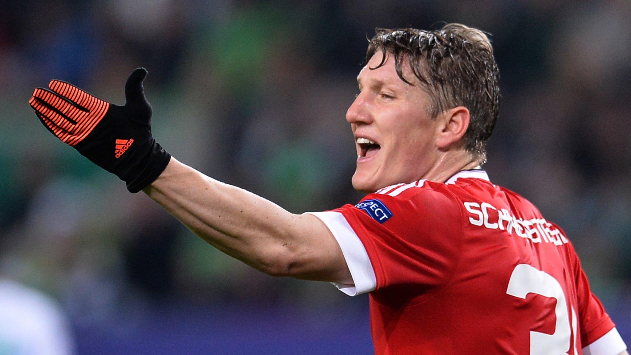Man Utd will be Schweinsteiger's 'last club in Europe'
