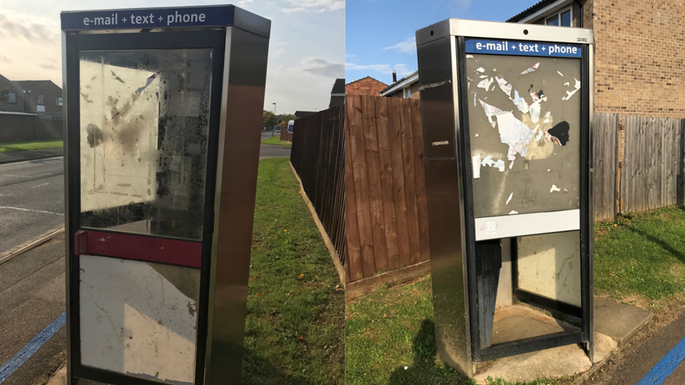 Cherwell council will tell BT to tidy phone boxes