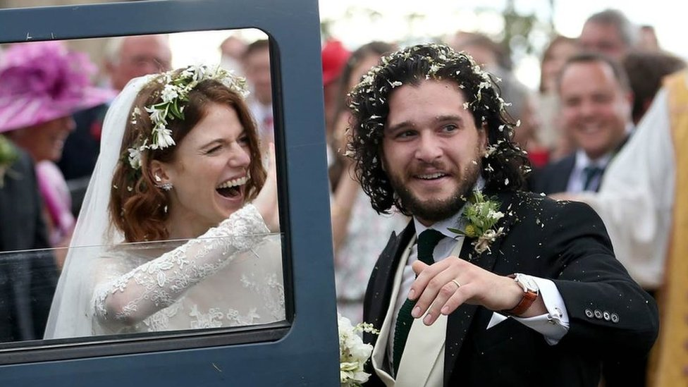 Game of Thrones stars marry in Scotland