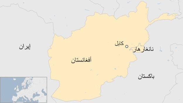 خريطة أفغانستان