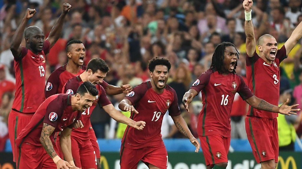 Euro 2016: Poland 1-1 Portugal (3-5 pens) highlights
