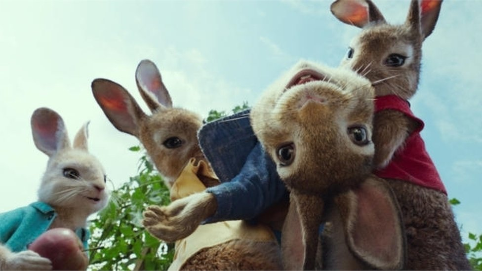 Escena de Peter Rabbit (Foto: Sony Pictures Entertainment)