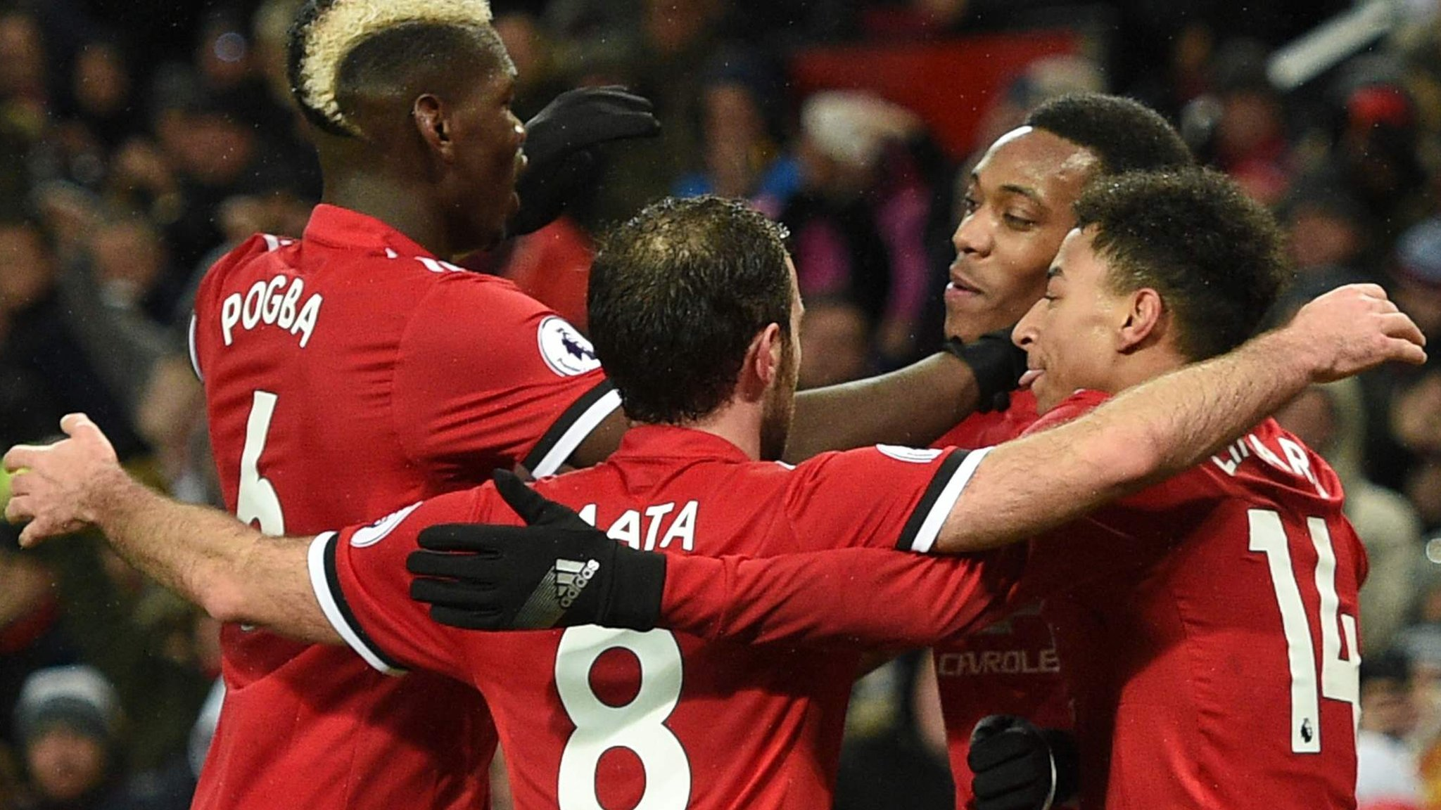 Pogba stars as Man Utd cruise to victory against Stoke
