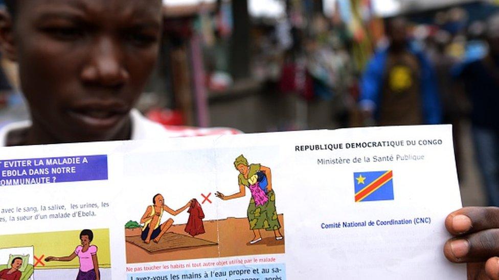L'OMS annonce une réunion d'urgence sur Ebola en RDC