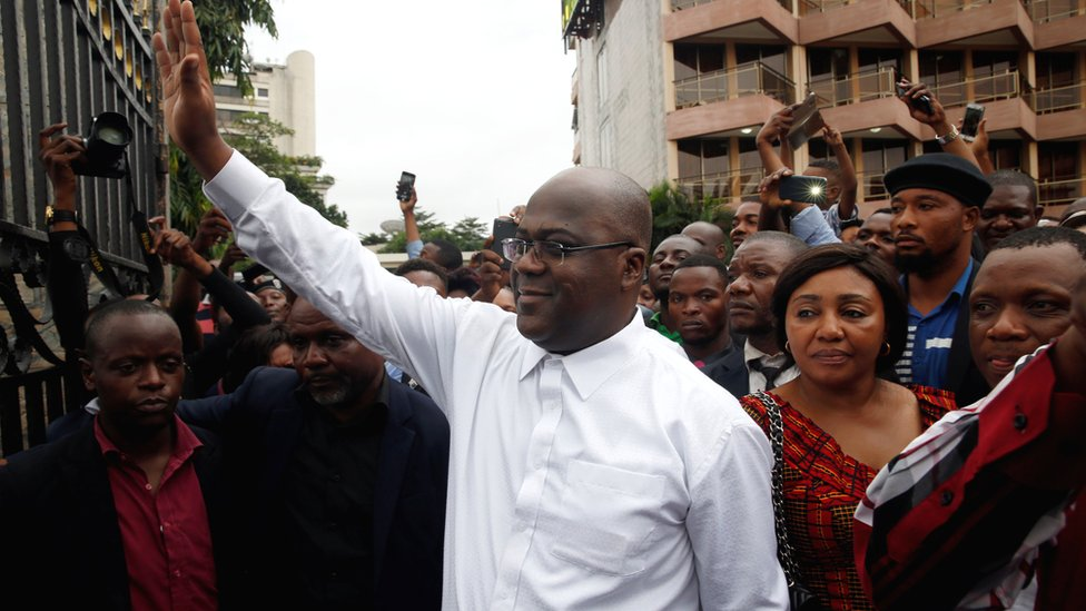 How does Tshisekedi's win in DR Congo add up?