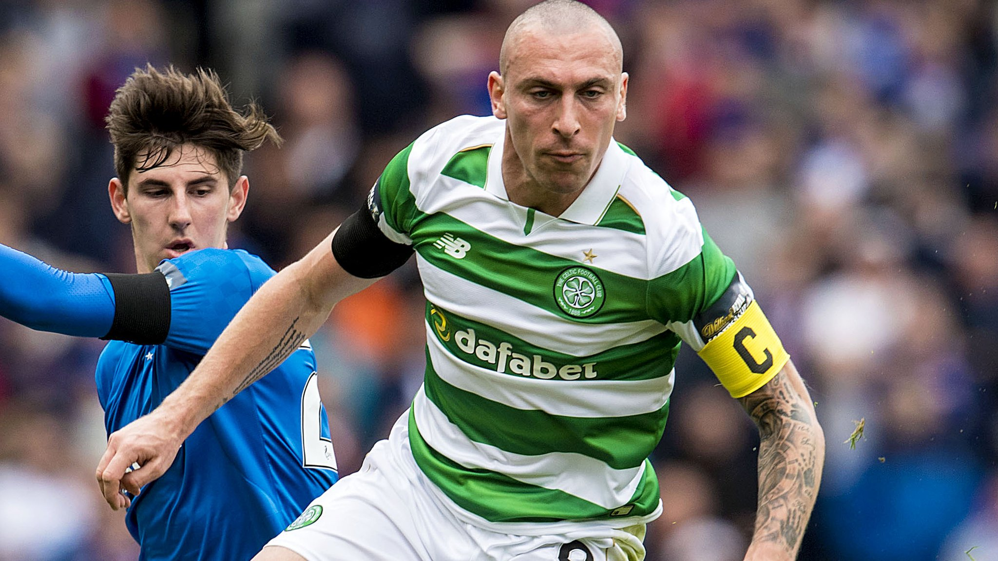 Celtic's Brown can face Rangers after winning red card appeal