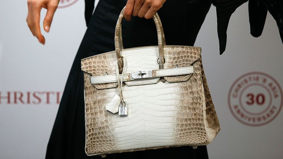 2bfa92534ca Image copyright Getty Images Image caption The bag was sold by auctioneers  Christie s on Tuesday