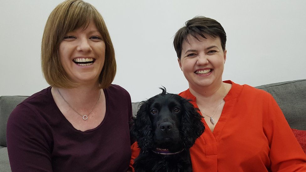 Ruth Davidson announces she is pregnant
