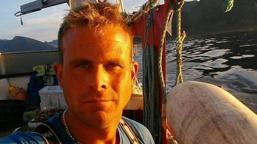 Lost fisherman Darren Brown's family plans memorial
