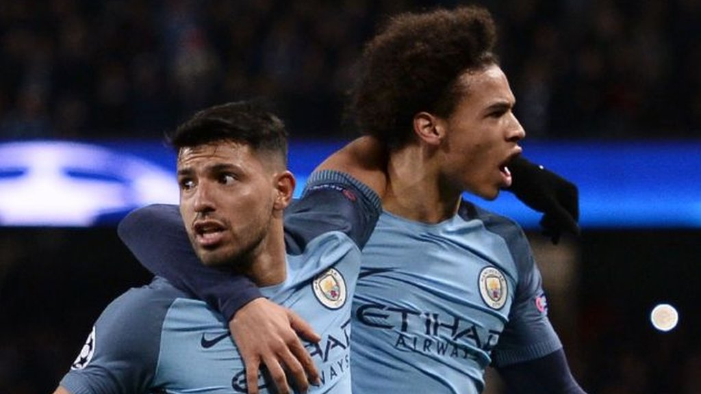 Man City rally to beat Monaco 5-3 in epic first leg
