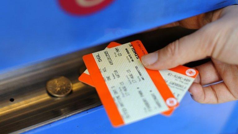 UK rail ticket machines hit by IT glitch