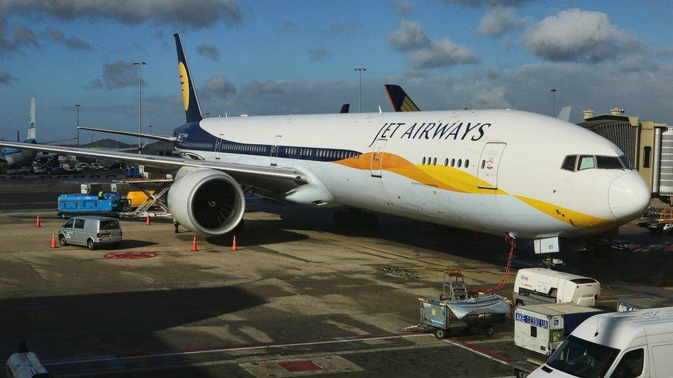 Jet Airways temporarily suspends all flights