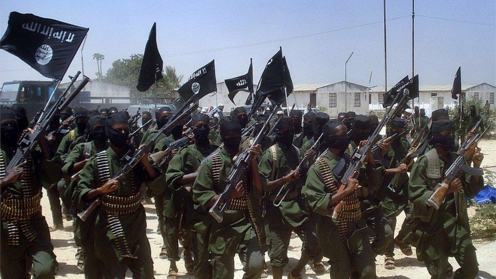 militantes de Al Shabab