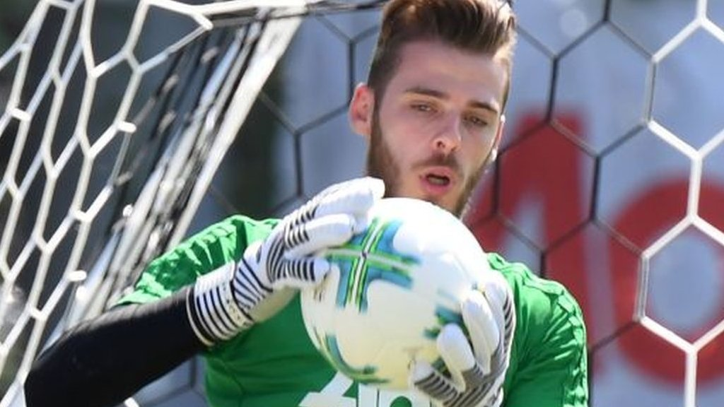 De Gea 100% staying at Man Utd, says Mourinho