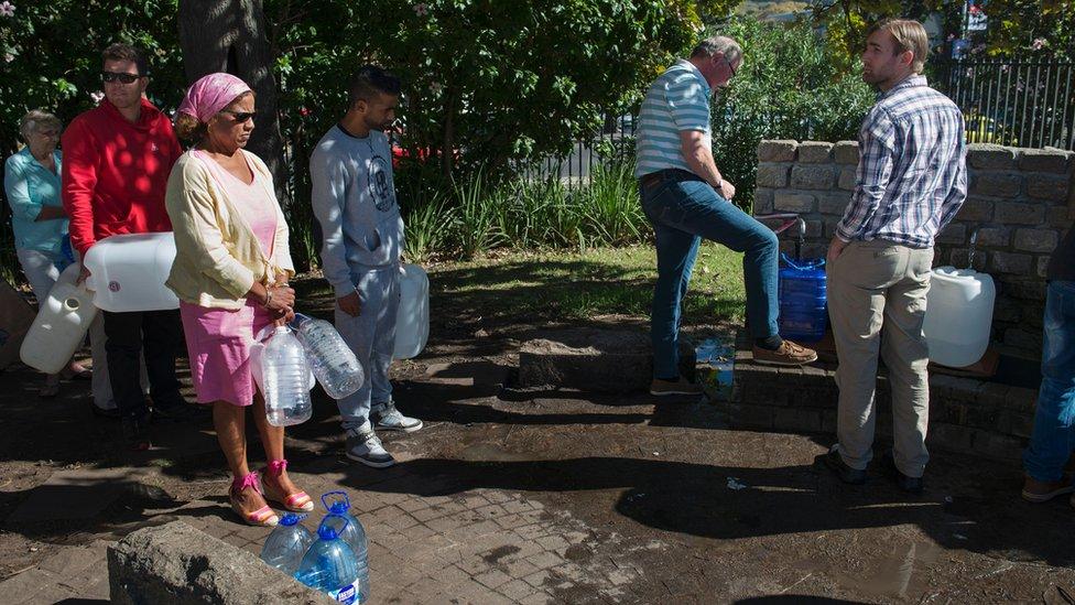 Afrique du Sud : les autorités du Cap rationnent l'eau à cause de la sécheresse