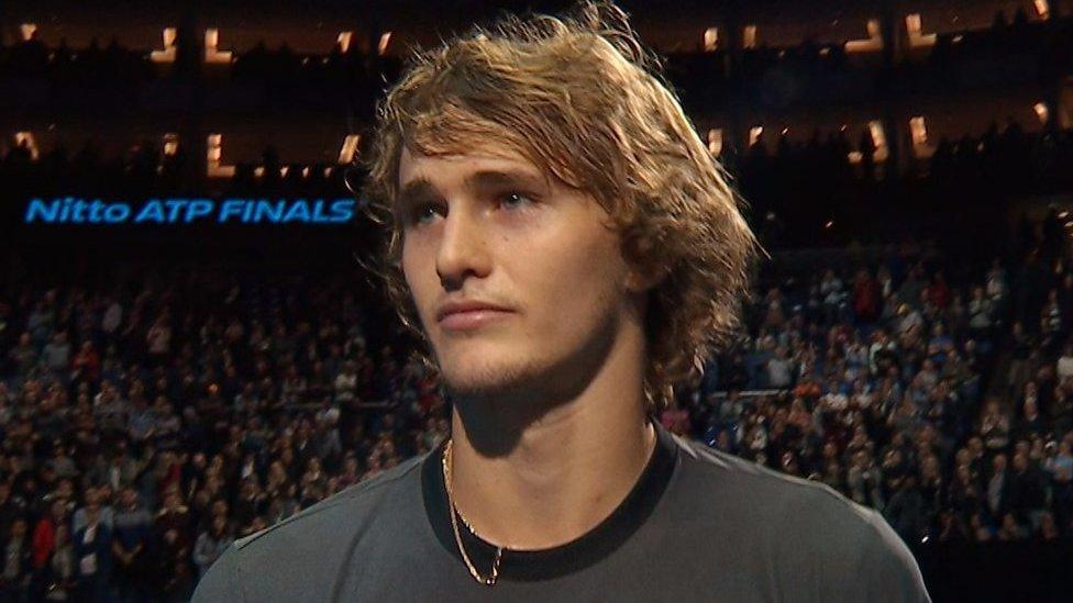 ATP Finals: Crowd boo Alexander Zverev after defeating Roger Federer