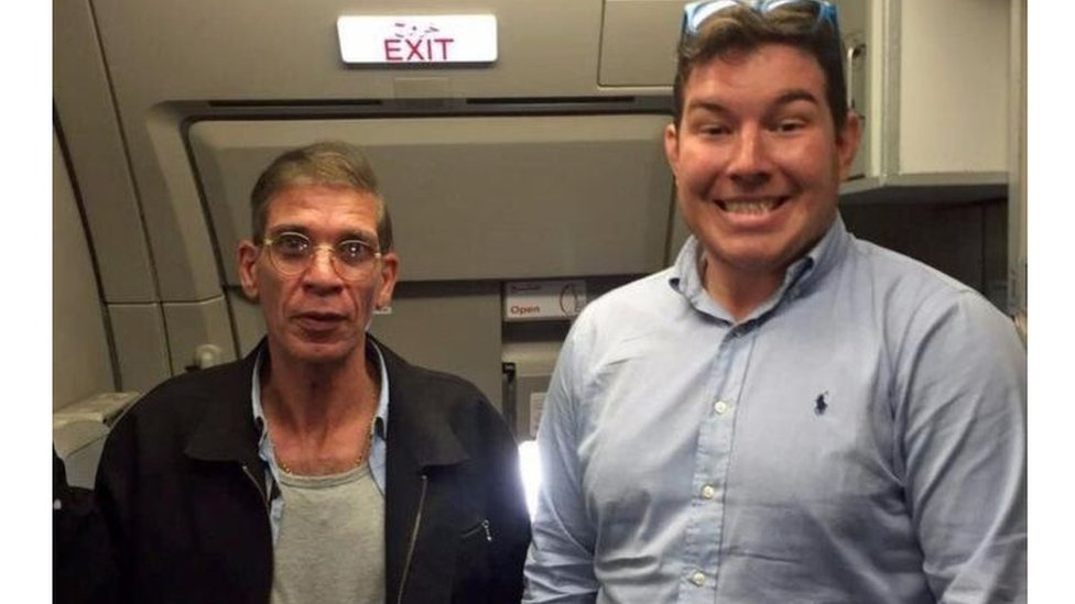 The controversial 'hijacker selfie'