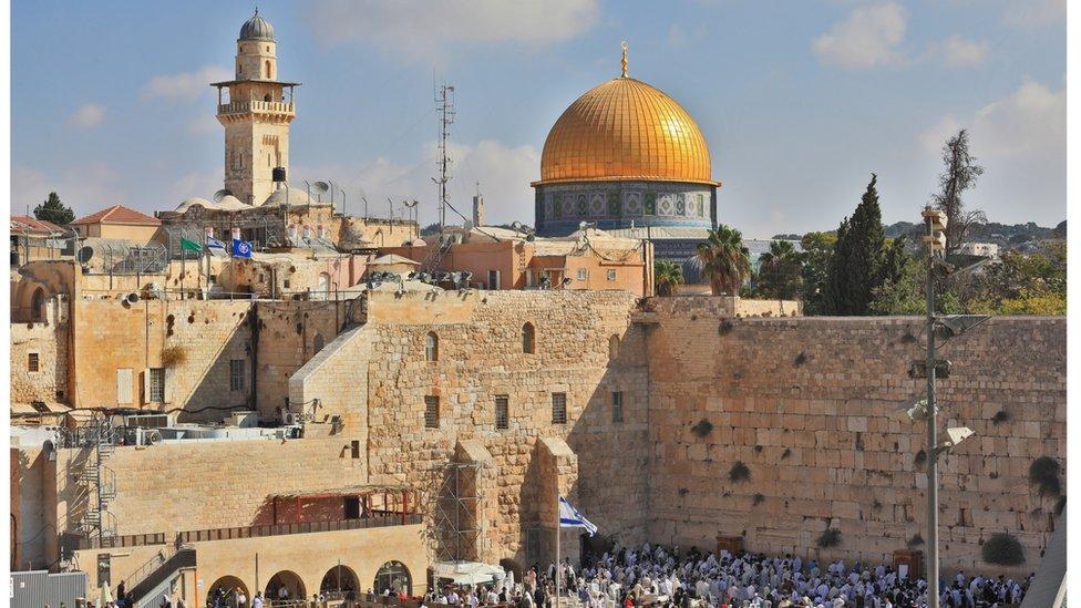 Os Estados Unidos reconheceram Jerusalém como capital de Israel, contrariando recomendações internacionais