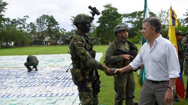 Según las autoridades colombianas, la cocaína incautada habría alcanzado en el mercado de EE.UU. un valor de US$360 millones.