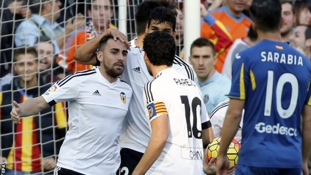 Video: Valencia vs Getafe