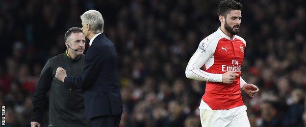 Arsenal 0-1 Chelsea: Mengapa Wenger salah melepas Giroud