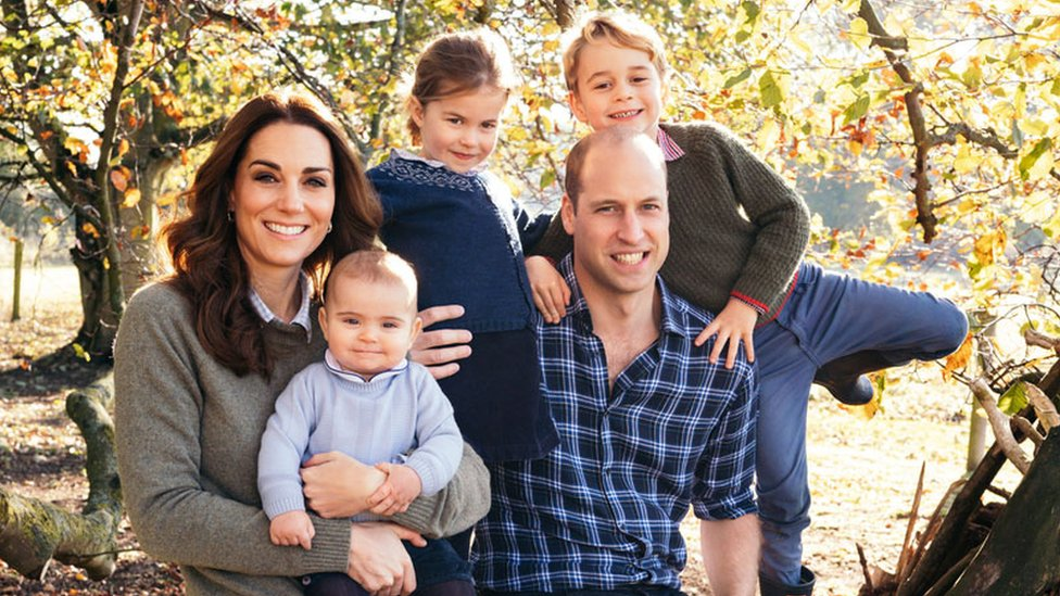 Royal Family: Christmas card images by Harry, Meghan, William and Kate