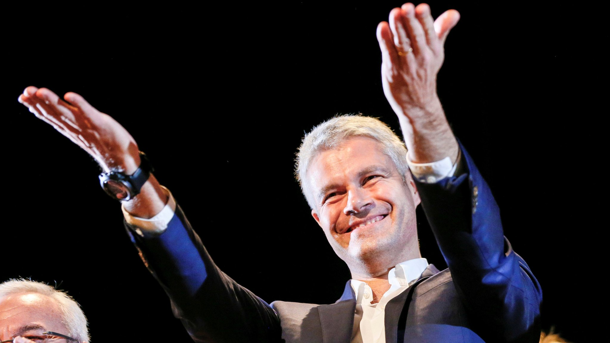 Laurent Wauquiez: Right-winger is French opposition hope against Macron