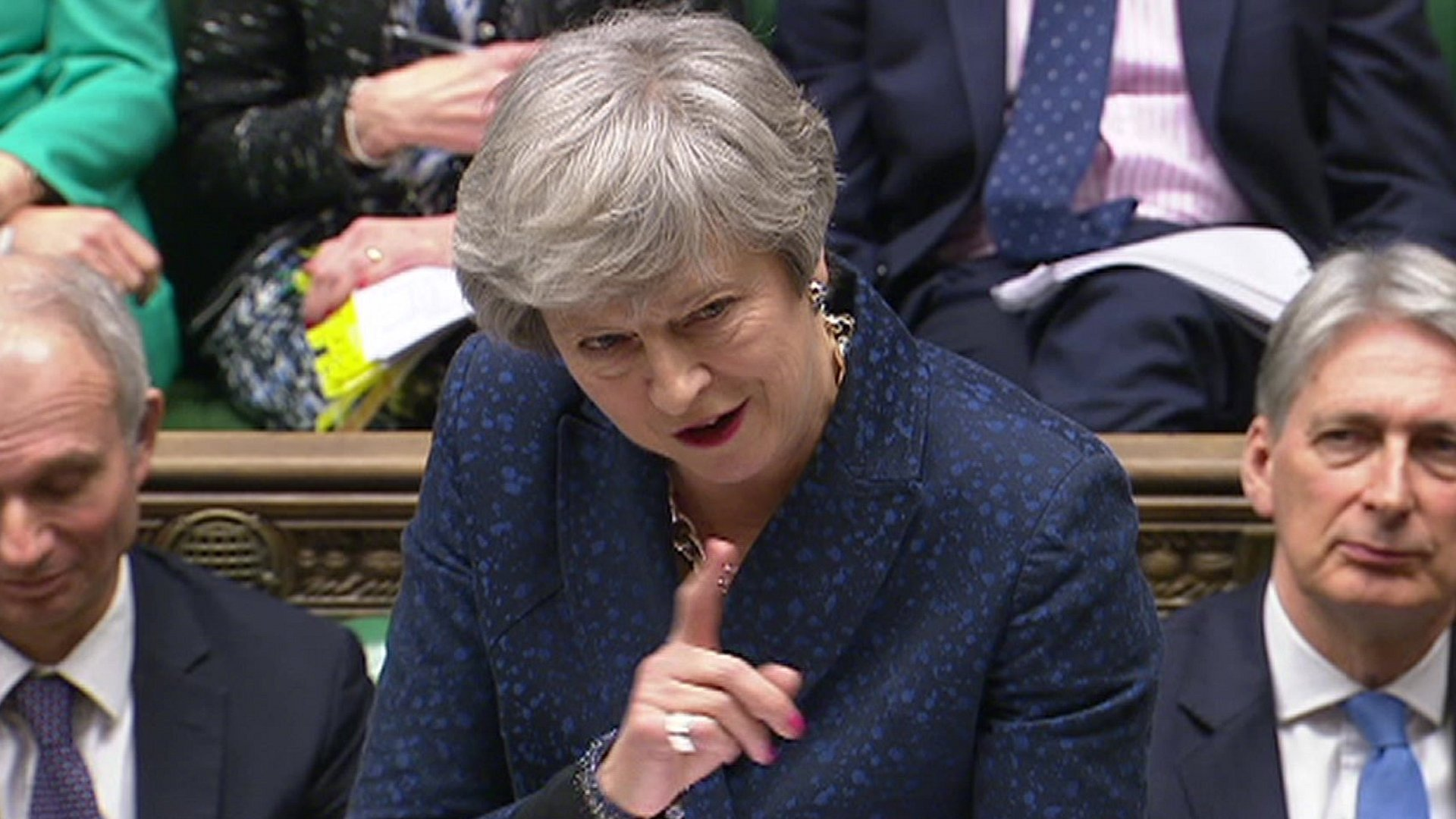 Delaying Brexit won't solve anything, Theresa May tells MPs