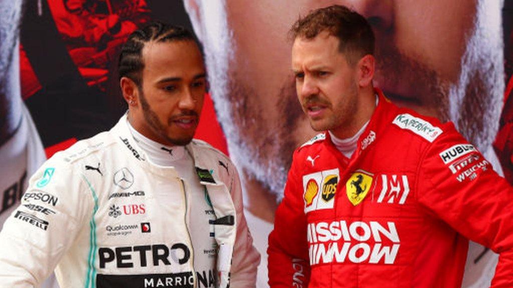 Flawless Mercedes pile pressure on Ferrari - Palmer column