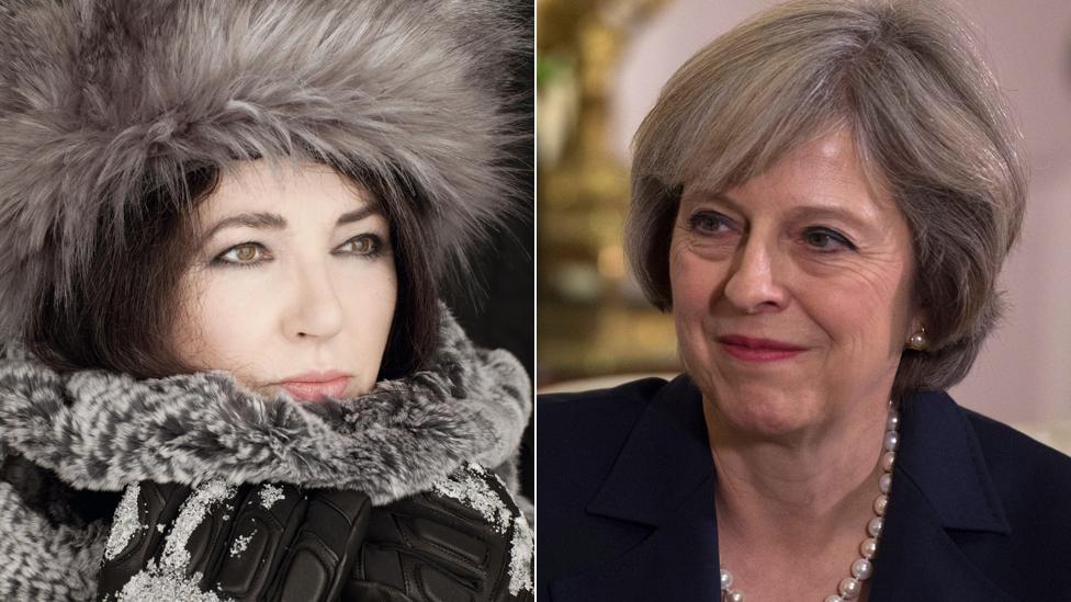 Kate Bush says Theresa May is 'wonderful'