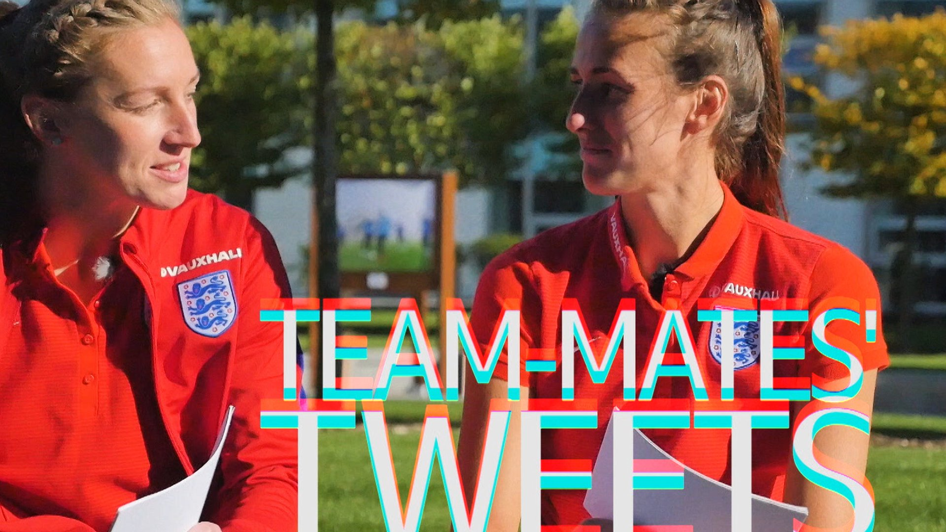 Team-mates tweets: Rainbows, maps and chocolate libraries from England women's team